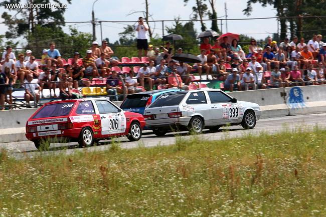 заключительный этап Чемпионат Украины по кольцевым гонкам