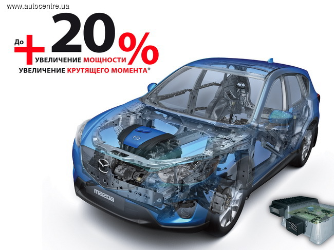Mazda CX-5 становится еще мощнее