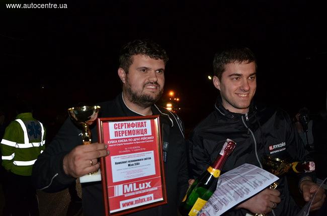 Ксенон MLux стал спонсором Кубка по дрэг-рейсингу