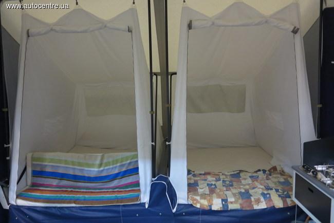 Жилые прицепы-палатки