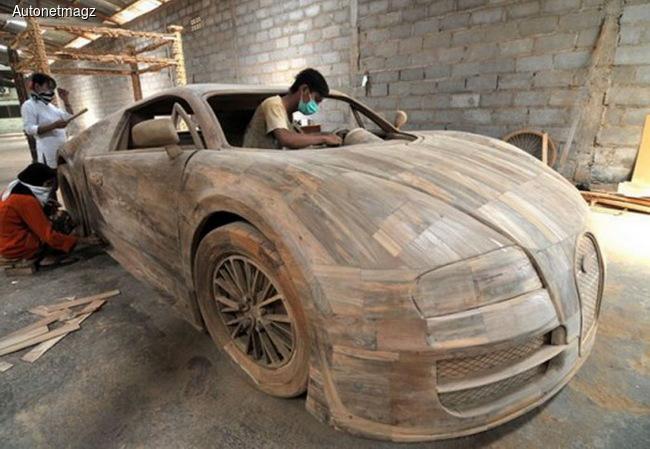 Bugatti Veyron продали за 2600 евро