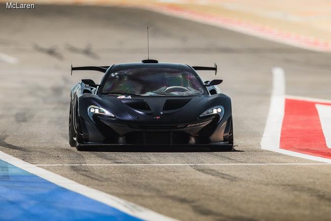 McLaren раскрывает секреты 1000-сильного суперкара P1 GTR