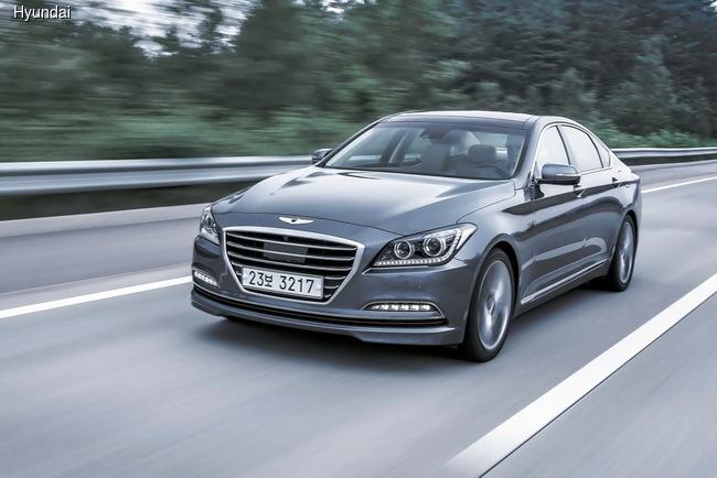 Hyundai Genesis удивил австралийцев