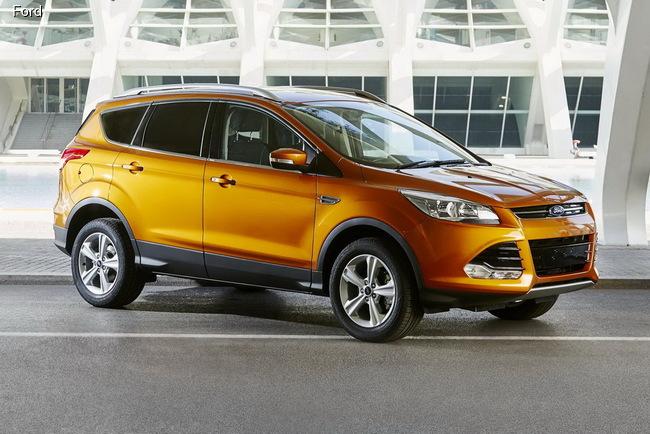 Ford Kuga получил новый яркий цвет Tiger Eye Metallic
