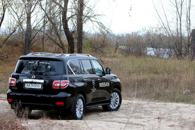 У нас на тесте обновленный Nissan Patrol