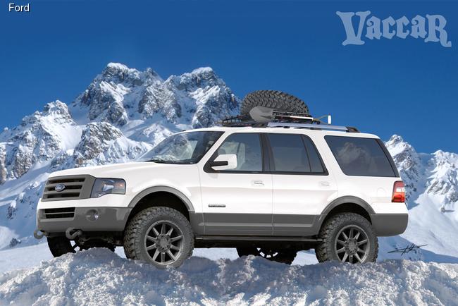 Ford будет удивлять на SEMA внедорожниками Expedition