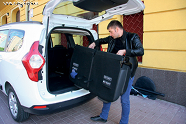 Тест-драйв Renault Lodgy