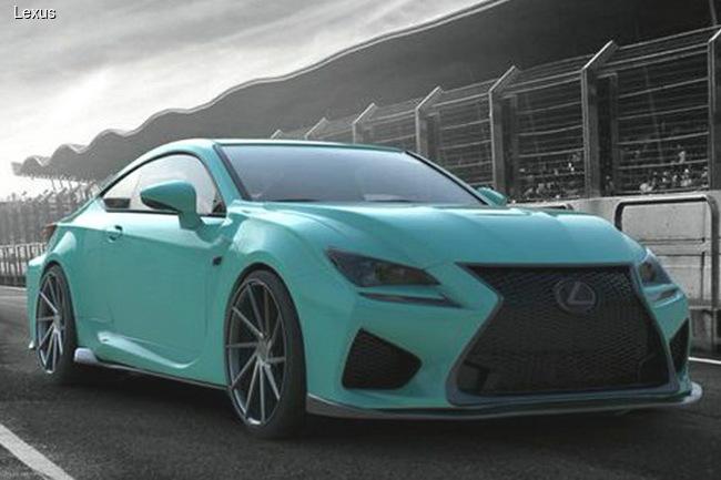 Lexus готовит к SEMA купе и кроссоверы