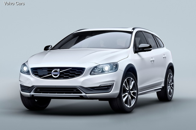 Volvo презентует на автошоу в Лос-Анджелесе новый V60 Cross Country