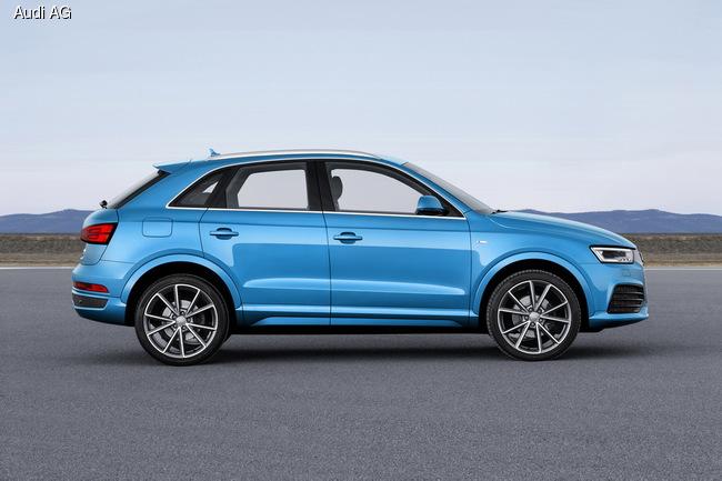 Audi обновила компактный кроссовер Q3