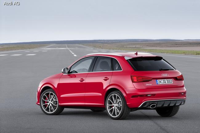Новый Audi RS Q3 прибавил 30 «лошадок»