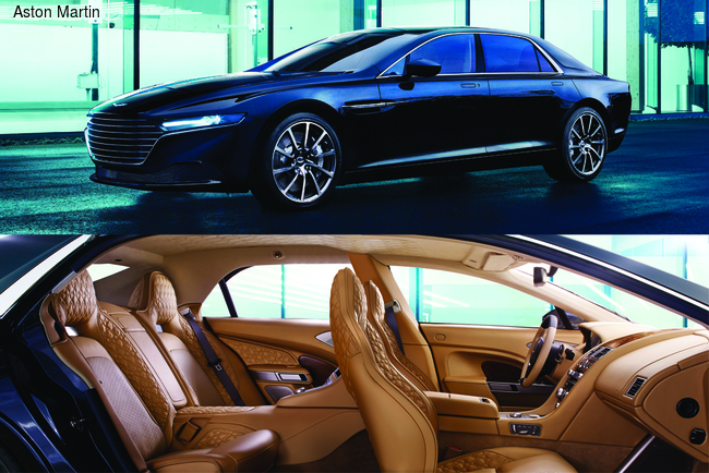 Aston Martin Lagonda презентовали в Дубае