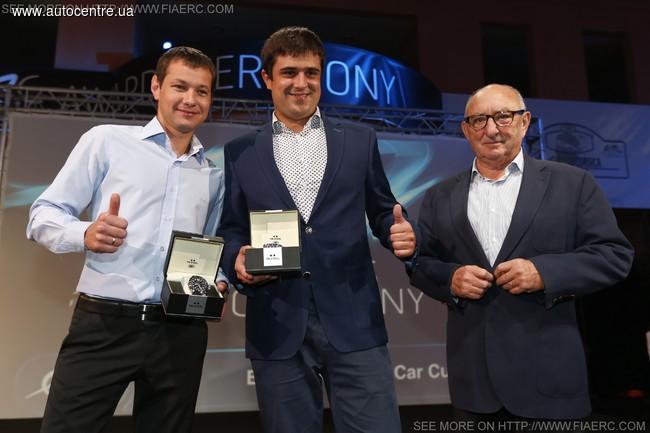 Украинцы впервые в истории выиграли чемпионат Европы по ралли
