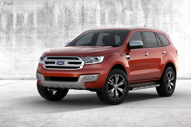 Ford Everest отправился в серию