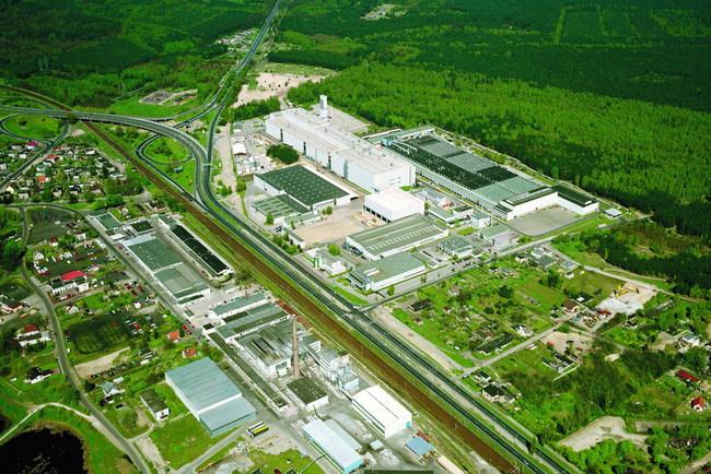 Завод Volkswagen в Познани