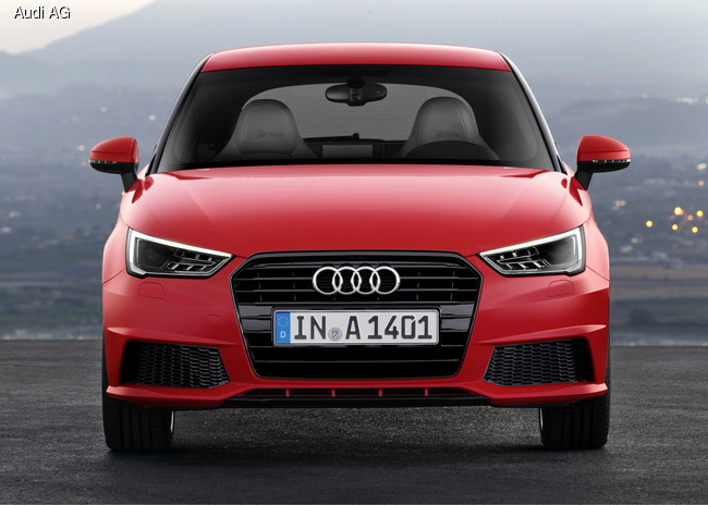 Audi A1 обновили и оснастили трехцилиндровыми моторами