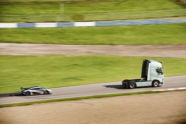 Грузовик Volvo FH