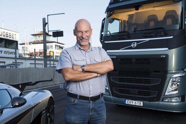 Джефф Берд, руководитель тест-драйвами для прессы компании Volvo Trucks