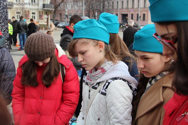 ГАИ организовало в Киеве необычный флэш-моб