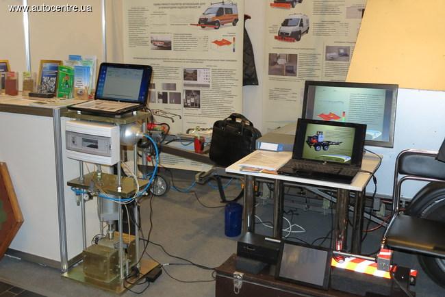 Ходовая лаборатория для измерения состояния дорожного покрытия