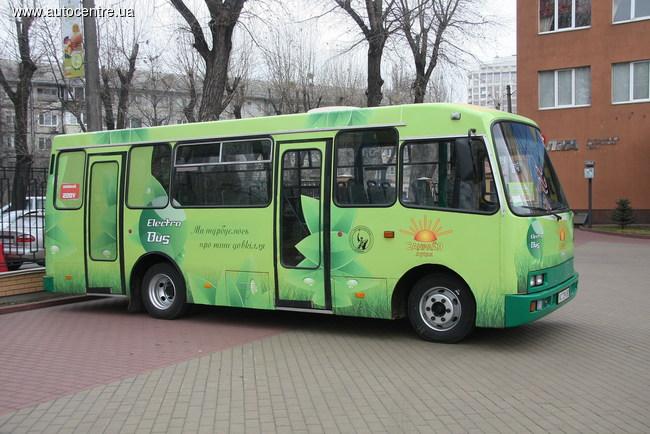 Электробус луцкого предприятия «Санрайз»