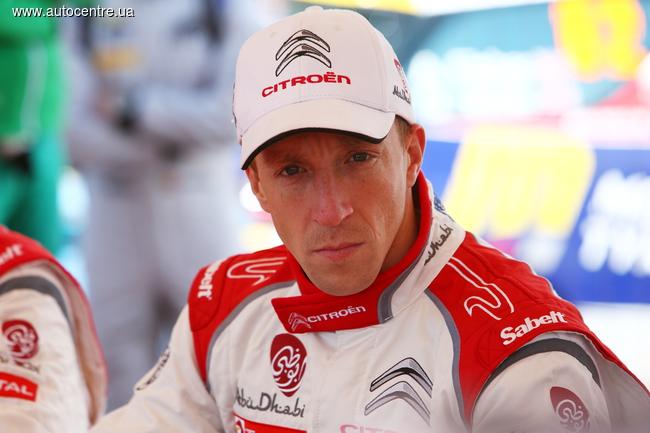 WRC: Заводская команда Citroen продлила контракт с Крисом Миком