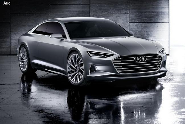 Концет Audi Prologue является прообразом новой модели Audi A9