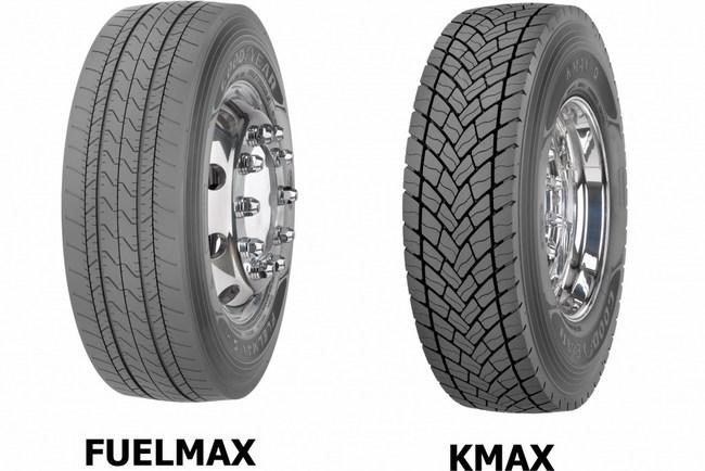 Шины  Goodyear Kmax и Fuelmax