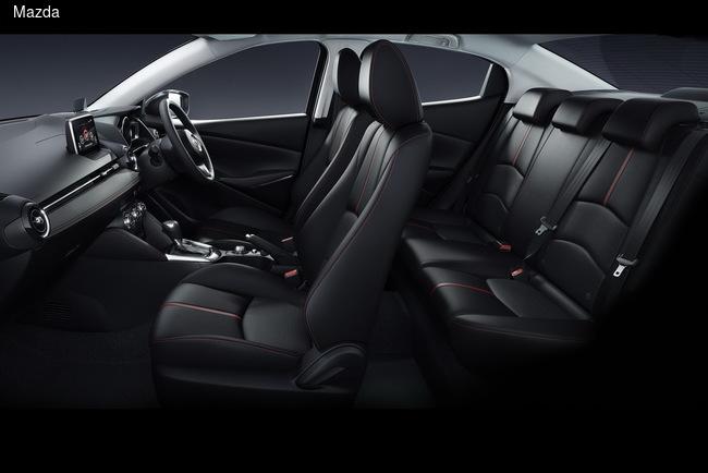 Mazda2 обзавелась версией с кузовом седан