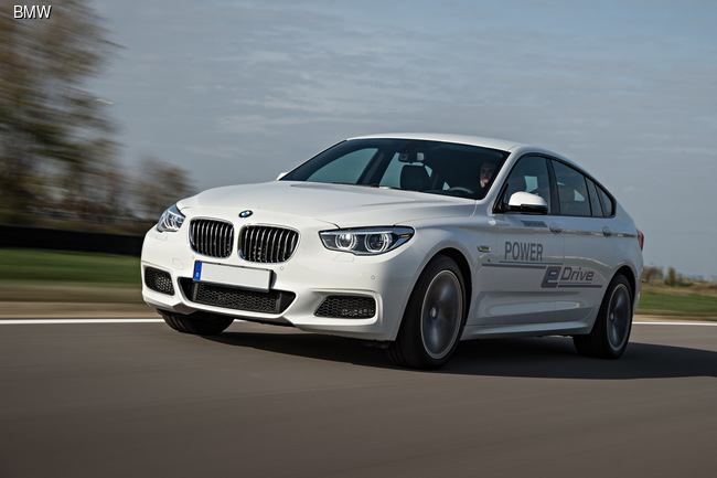 BMW показала самый мощный гибрид Power eDrive