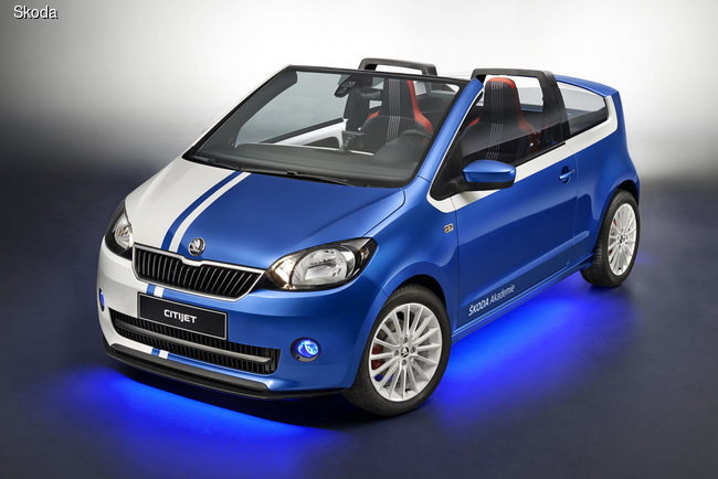 Skoda привезет в Эссен коллекцию спортивных, гоночных и концептуальных авто