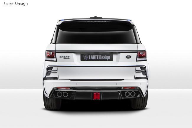 Larte Design отметился в Эссене внедорожником Range Rover Sport Winner