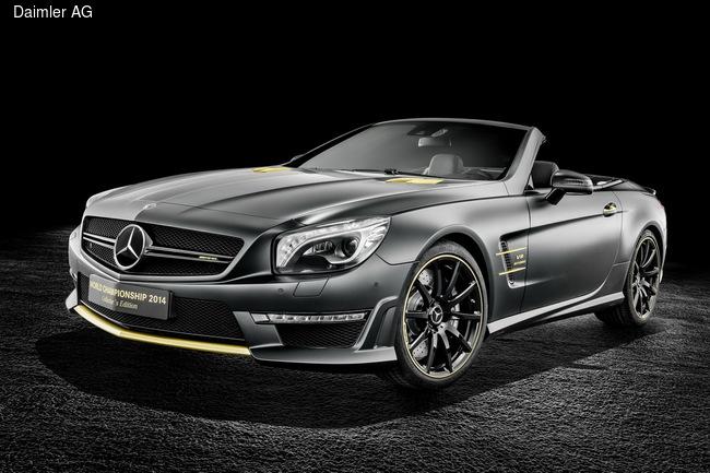 Mercedes-Benz отметил чемпионский титул в Формуле-1 выпуском двух суперкаров