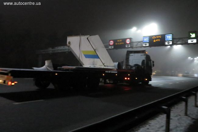 Перевозка самолета в Киеве