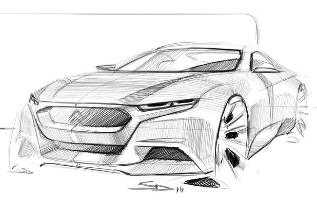 Украинский дизайнер представил свое видение спортивного купе DS