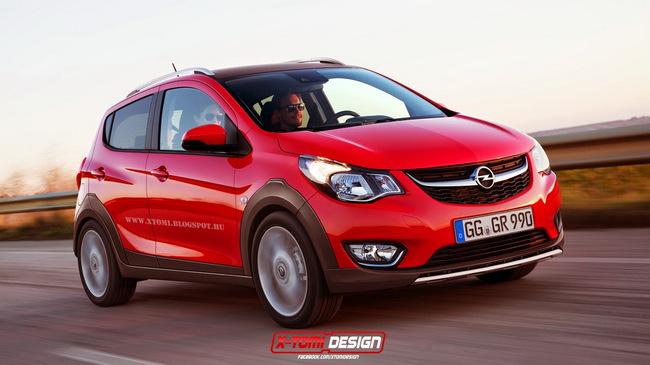 Opel Karl получит новые версии