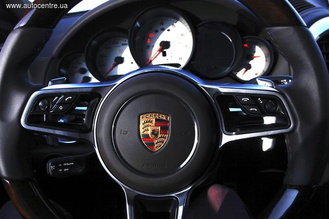 тест Porsche Cayenne S