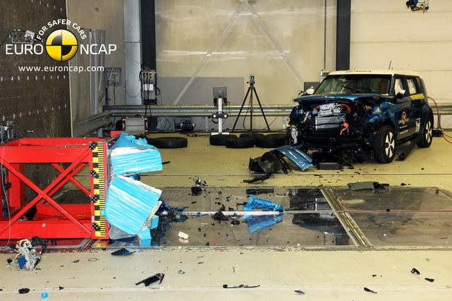 Последний краш-тест Euro NCAP