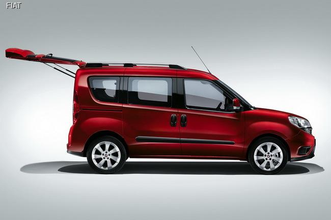 Fiat обновил семейство фургонов Doblo