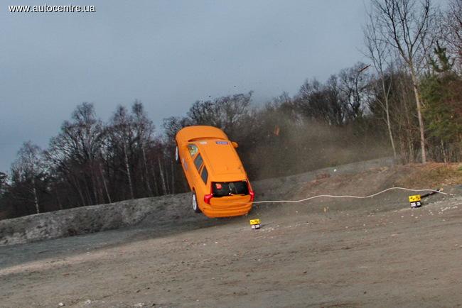 уникальный краш-тест Volvo