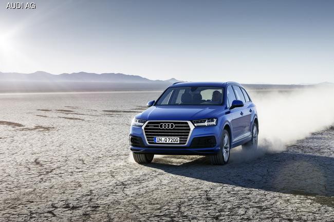 Audi Q7 нового поколения покажут в Детройте