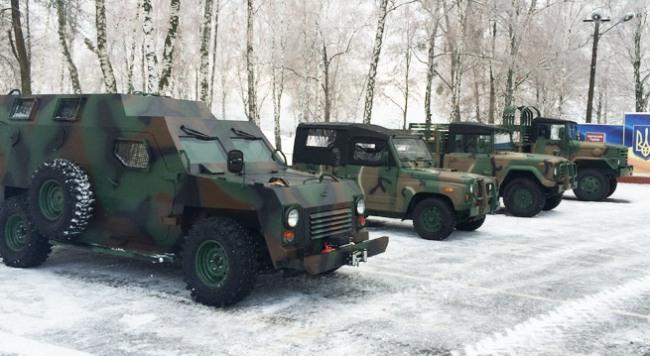 «Богдан» разработал собственный бронеавтомобиль «Барс»