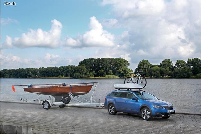 Любителям активного образа жизни и путешественникам адресована дебютировавшая в этом году версия Octavia Scout.