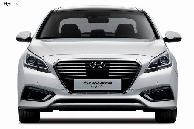 Hyundai презентовал Sonata Hybrid нового поколения