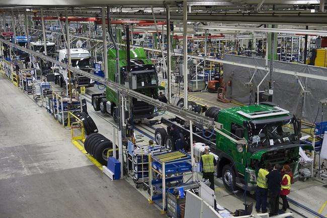 Производство грузовиков Volvo