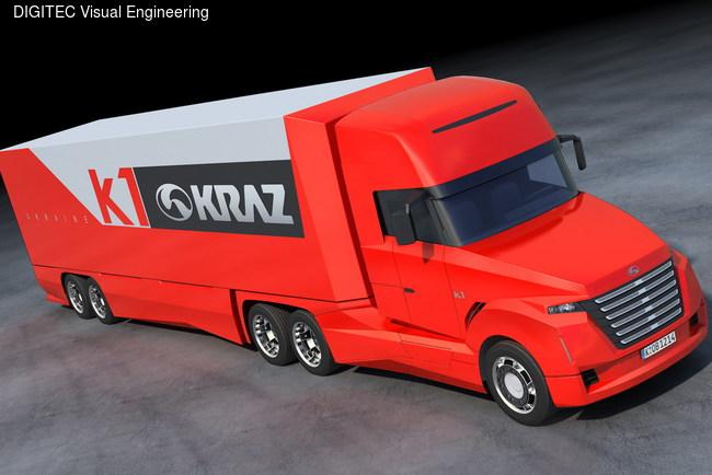 Проект магистрального тягача КрАЗ