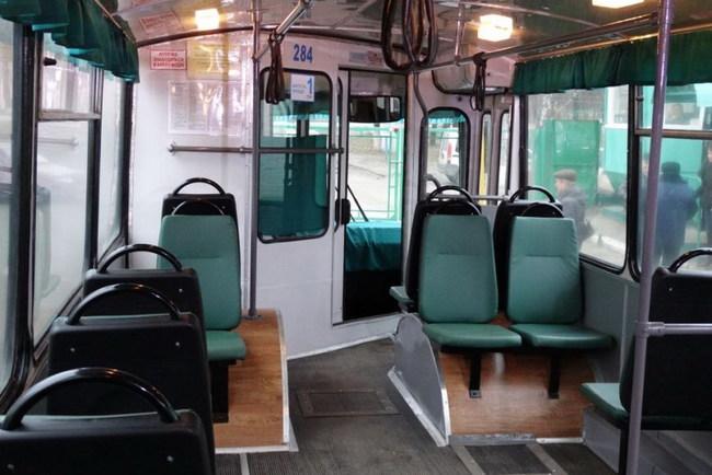 Троллейбус ЗИУ, восстановленый в Сумах