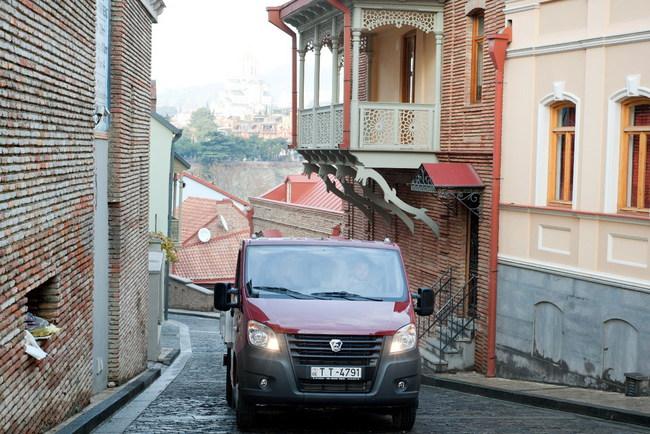 Автомобили ГАЗ в Грузии