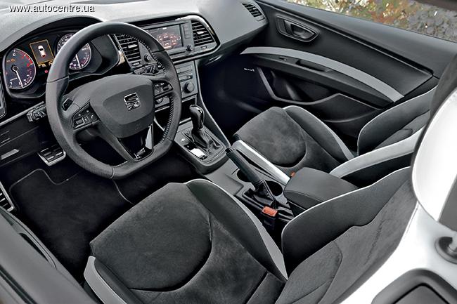 Тест-драйв SEAT Leon SC Cupra