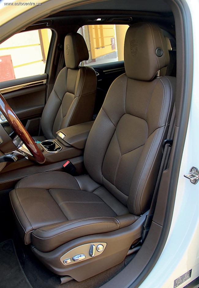 Тест-драйв Porsche Cayenne S